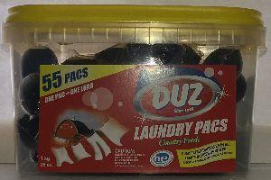 Liquid Laundry Detergent Pacs