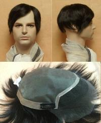 Mens Front Lace Hair Wigs
