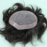 Mens Full Size Monofilament Hair Wigs