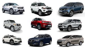 Muvs & Suvs Car Rental Service