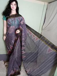 Cotton Handloom Ikkat Saree 04