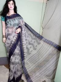 Cotton Handloom Ikkat Sarees