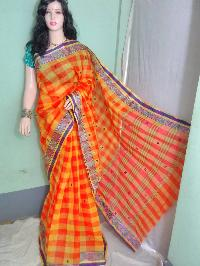 Cotton Handloom Tant Saree 02