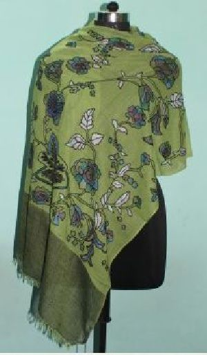Embroidered Wool Shawls