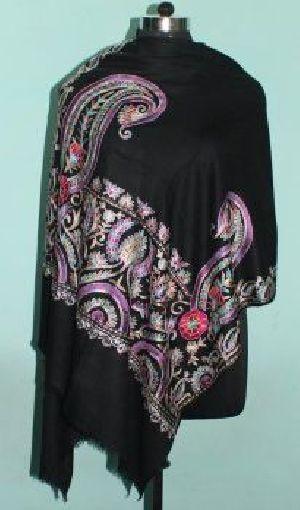 Printed Wool Silk Shawls