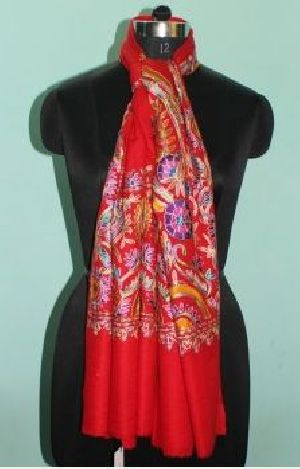 Printed Wool Silk Stoles