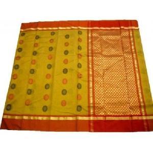 Yellow Chanderi Sarees