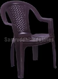 King Black Samruddhi Plastic Chair