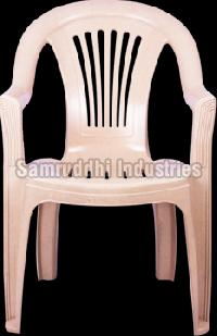 King High Black Samruddhi Plastic Chair