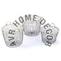 AVR-4014 Iron Wire Basket
