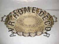 AVR-6004 Brass Oval Tray