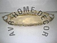 AVR-6006 Brass Oval Tray