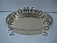 AVR-6008 Brass Oval Tray