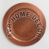 Copper Charger Plate 02