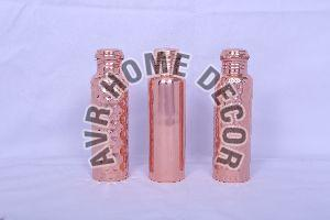950 ml Copper Hammered Water Bottles