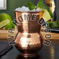 Copper Hourglass Tumbler