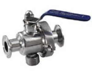 Sanitation Clamped Ball Valve