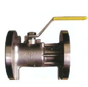Single Piece Flanged End Ball Valve