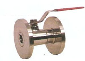 SS Single Piece Flanged End Ball Valve