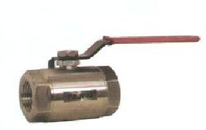 SS Two Piece Screwed End Ball Valve