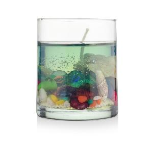 Aquatic Life Gel Wax Candle