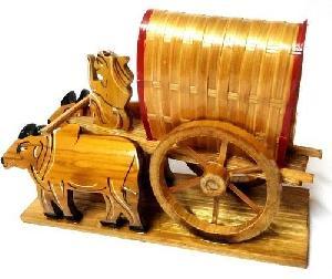 Bamboo Bullock Cart