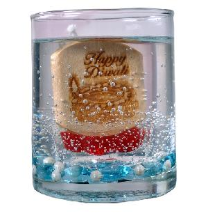 Happy Diwali Gel Wax Candle 02