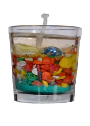 Sand And Stone Gel Wax Candle