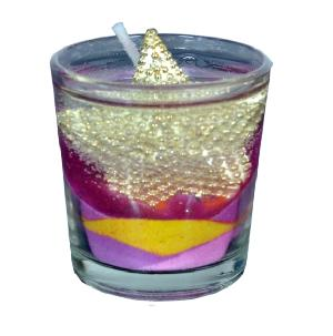 Star Gel Wax Candle