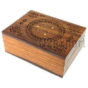 Handicraft Wooden Jewelry Box 01