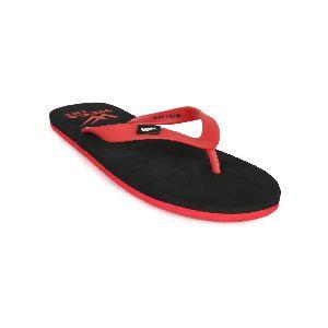 Black & Red Mens Slipper