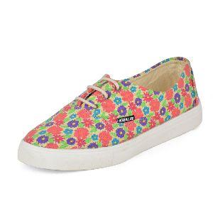 Printed Multicolor Ladies Sneaker