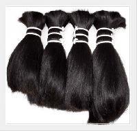 Non Remy Single Drawn Bulk Hair