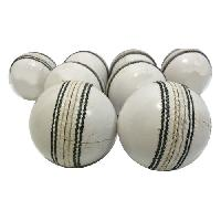 Black & White Leather Cricket Ball