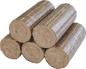 Fuel Biomass Briquette 02