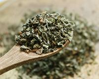 Dried Green Tulsi Leaves