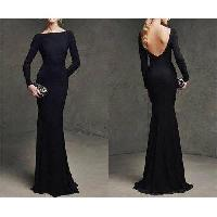 Designer Black Gown