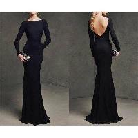 Designer Black Gown