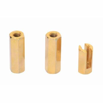 Brass Connectors & Tag