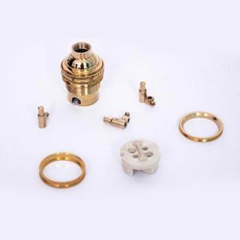 SIL BC 004 Brass Lampholder