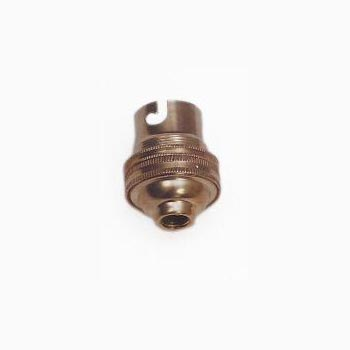 SIL 003 WSE BC Brass Lampholder