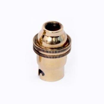 SIL 005 WSE SBC Brass Lampholder