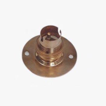 SIL 006 BT 50 SBC Brass Lampholder