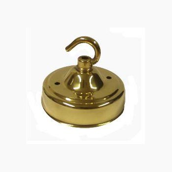 Polished Brass Ceiling Hooks