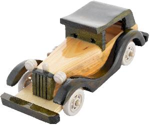 Bamboo Toy Car