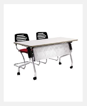 Aluminum Alloy College Folding Table
