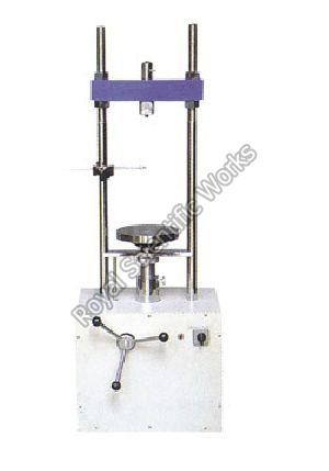 Motorized Triaxial Shear Test Apparatus