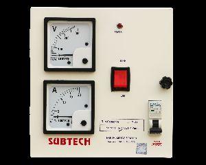 Base Single Phase Motor Starter Control Panel
