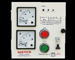 Ebase Single Phase Motor Starter Control Panel