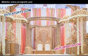Wedding Crystal Mandap